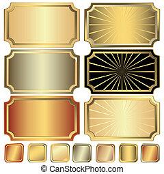Sammelt Gold, Silber und Bild
