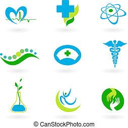Sammlung medizinischer Ikonen