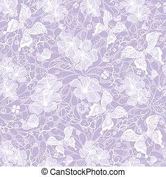sanft, violett, seamless, weinlese, muster