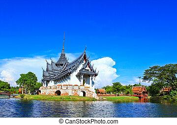 Sanphet prasat Palace bangkok, thailand.