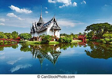 Sanphet Prasat Palast, Thailändisch.