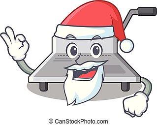 Santa Bindung Maschine ein in den Charakter.
