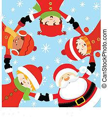 Santas Weihnachtsfeier