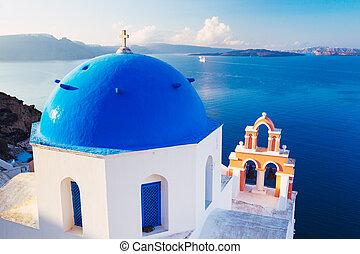 Santorini-Insel, Griece