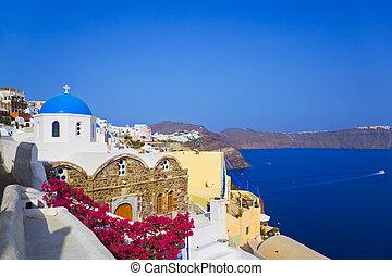 Santorini Kirche (Oia), Greece.