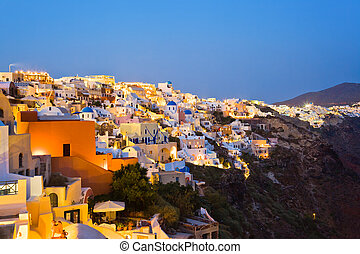 Santorini-Nacht (Oia) - Grueece