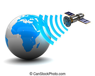 satellit, sendung