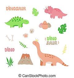 satz, dinosaurierer