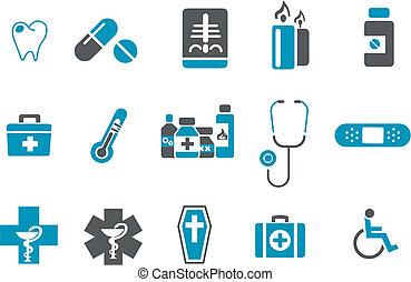 satz, ikone, gesundheit