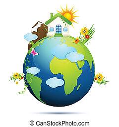 Saubere Erde