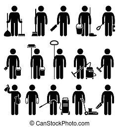 Sauberere Reinigungsmittel.