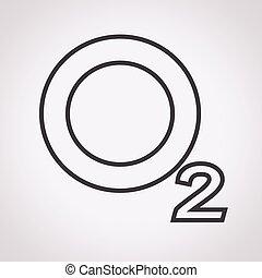 Sauerstoff-O2-Icon.