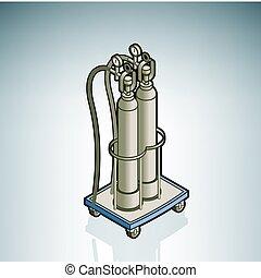 Sauerstoffzylinder