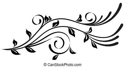 Schöne abstrakte Blume