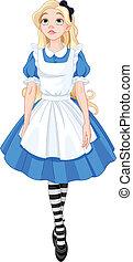 Schöne Alice.