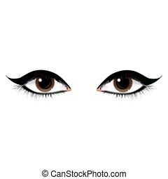 Schöne Augen.