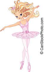 Schöne Ballerina.