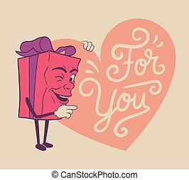 Schönes Valentinsgeschenk für dich.