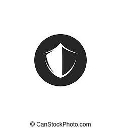 schablone, abbildung, schutzschirm, ikone, symbol, vektor