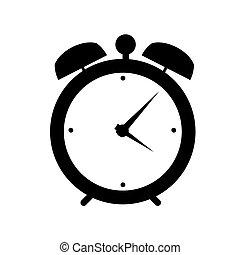 Schalten Sie Alarm-Icon-Vektor-Anzeigen.