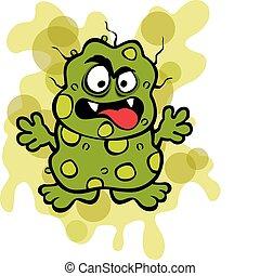 Scheußliche Mikrobe