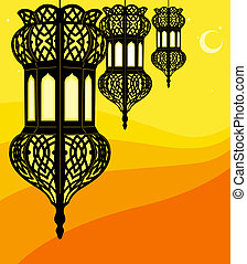Schicke Ramadan-Laterne