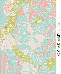 Schickes Blumenelement