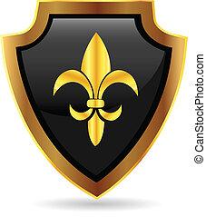 Schildgold Emblem-Logo.