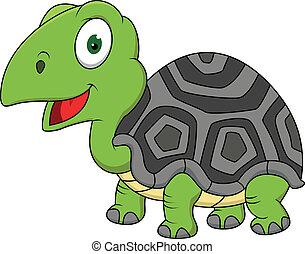 Schildkröten- Cartoon