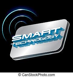 Schlauer Technologiekonzeptvektor