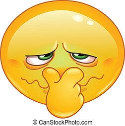 Schlechter Geruchs-Emoticon