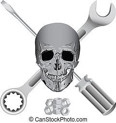Schlechtes Mechaniker-Symbol