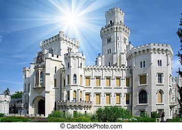 Schloss Hluboka - wunderschönes Wahrzeichen.
