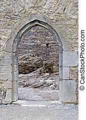 Schlosstür