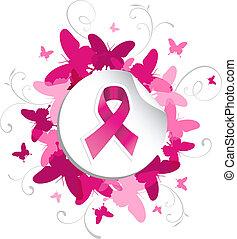 Schmetterlings Brustkrebs Bewusstsein