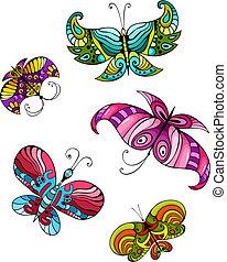 Schmetterlingsset