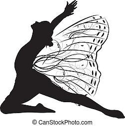 Schmetterlingstänzer.