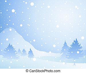 schnee, hintergrund