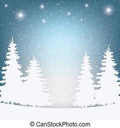 Schnee Winter Hintergrund.