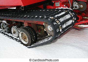 Schneefahrzeug