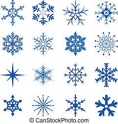 Schneeflocken sind Teil