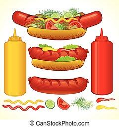 Schneller Hotdog