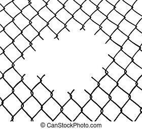 Schnitter Zaun