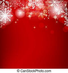 schoenheit, abstrakt, abbildung, hintergrund., vektor, jahr, neu , weihnachten