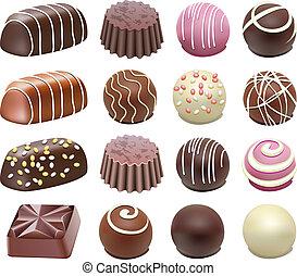 Schokoladenbonbons