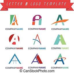 Schreiben Sie ein Logo-Vorlage