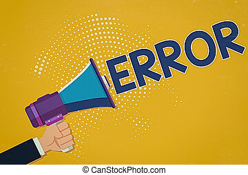 schreibende, foto, intended, error., abweichung, verhalten, mann, analyse, oder, halftone, hand, geschaeftswelt, begrifflich, megaphon, text, leistung, besitz, ausstellung, ausfall, hu, pattern.