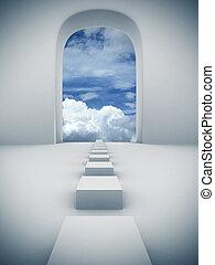 Schritte in den Himmel