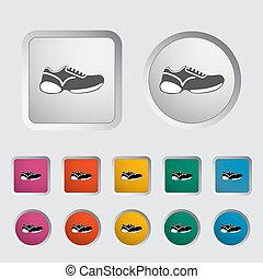 Schuhe-Ikone.