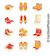 Schuhe-Ikonen à JUICY-Serie